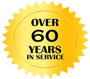 Over 60 Years in Service