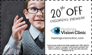 Hastings Vision Clinic - Promotion