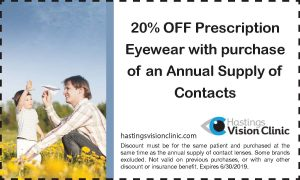 Hastings Vision Clinic - Promotions