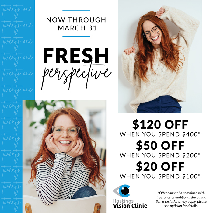 Fresh perspective promotion.